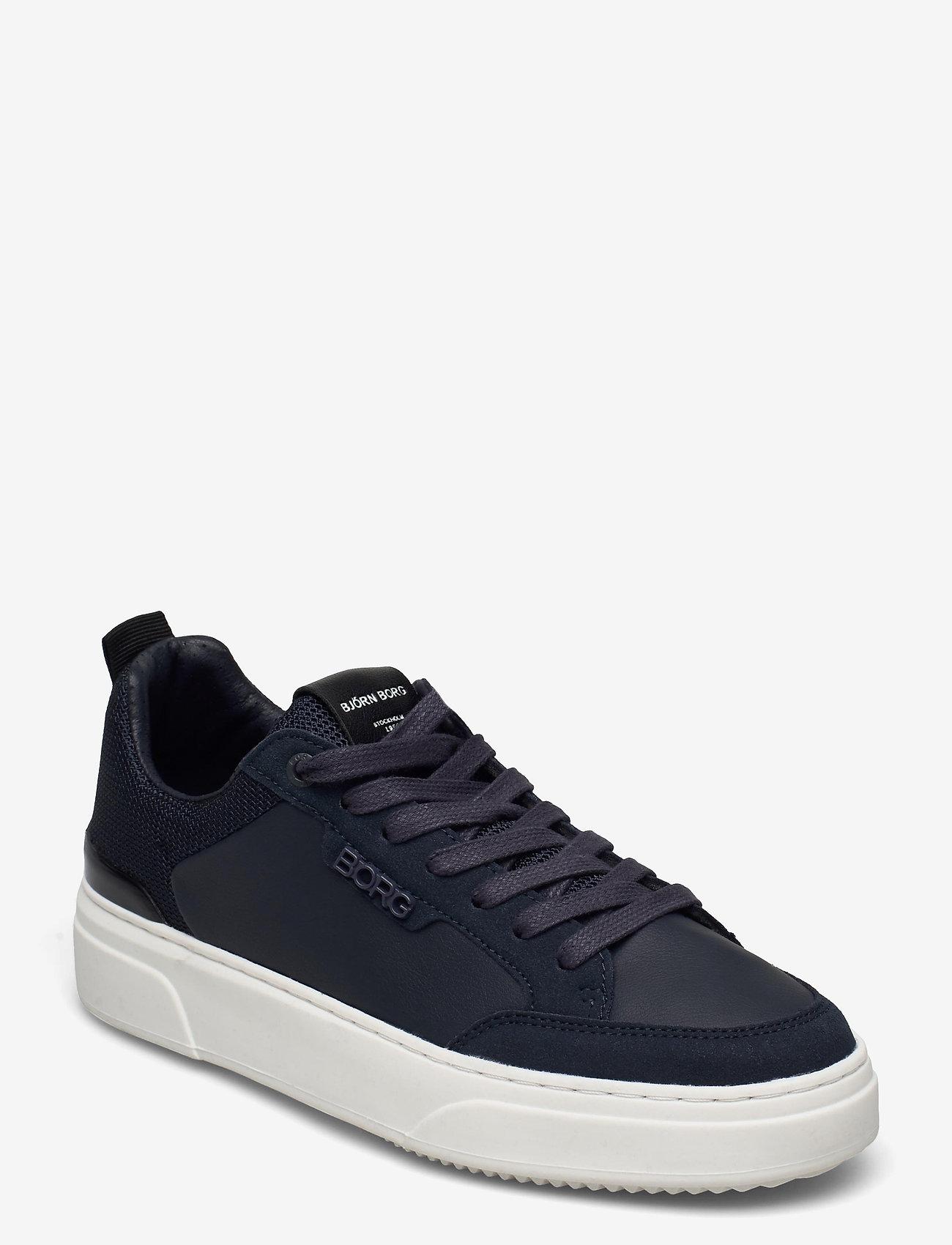 Björn Borg - T1900 NYL M - laag sneakers - navy-black - 0