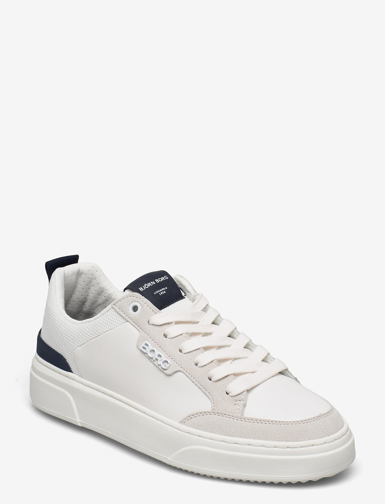 Björn Borg - T1900 NYL M - laag sneakers - white-navy - 0