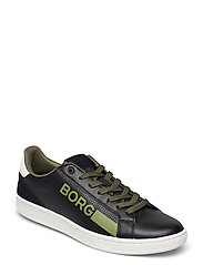 T330 Low Ctr Prf M - BLACK-WHITE