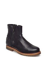 Joss High Zip W - BLACK
