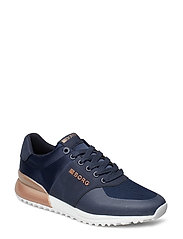 R200 Low Sat W - NAVY-ROSE GOLD