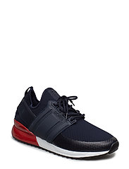 R220 Low Sck Tms M - NAVY-RED