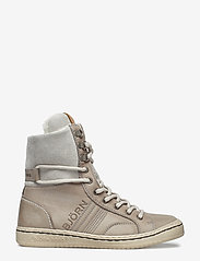Björn Borg - WENDY HIGH FUR W - flat ankle boots - light grey - 1