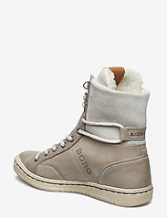 Björn Borg - WENDY HIGH FUR W - flat ankle boots - light grey - 2