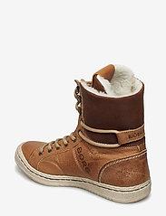 Björn Borg - WENDY HIGH FUR W - flat ankle boots - tan - 2