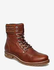 Björn Borg - KEVINA HIGH TMB W - flat ankle boots - tan - 0