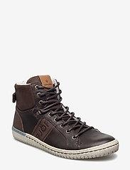 Björn Borg - ALEC MID FUR - hoog sneakers - dark brown - 0