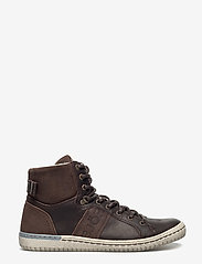 Björn Borg - ALEC MID FUR - hoog sneakers - dark brown - 1