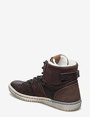 Björn Borg - ALEC MID FUR - hoog sneakers - dark brown - 2