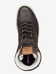 Björn Borg - ALEC MID FUR - hoog sneakers - dark brown - 3