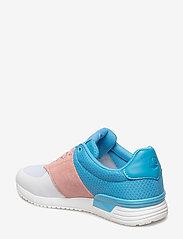 Björn Borg - R100 Low Tri W - low top sneakers - white-lt blue - 2