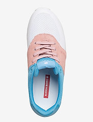 Björn Borg - R100 Low Tri W - low top sneakers - white-lt blue - 3