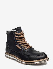 Björn Borg - MARTYN GR MID FUR - winter boots - black - 0