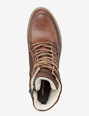 Björn Borg - MARTYN GR MID FUR - winter boots - tan - 3