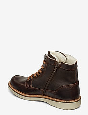 Björn Borg - Marvin Z Mid Fur M - buty zimowe - dark brown - 2