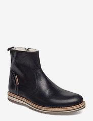 Björn Borg - Myka Z Mid Fur M - winter boots - black - 0