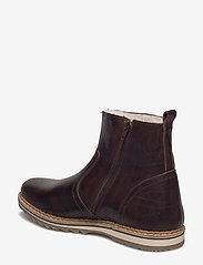 Björn Borg - Myka Z Mid Fur M - winter boots - dark brown - 2