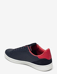 Björn Borg - T330 Low Ctr Prf M - laag sneakers - navy/red - 2