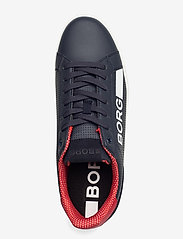 Björn Borg - T330 Low Ctr Prf M - laag sneakers - navy/red - 3