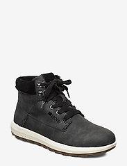 Björn Borg - R800 Hgh Fur W - high top sneakers - black - 0