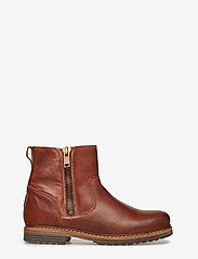 Björn Borg - Joss High Zip W - flat ankle boots - tan - 1