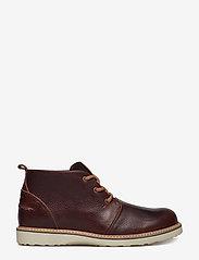 Björn Borg - Milko 02 Mid Tmb M - laced boots - dark brown - 1
