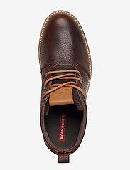 Björn Borg - Milko 02 Mid Tmb M - laced boots - dark brown - 3