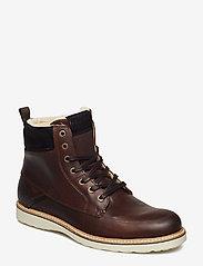 Björn Borg - MIO HIGH M - vinter boots - brown - 0