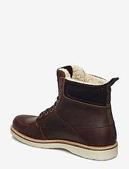 Björn Borg - MIO HIGH M - vinter boots - brown - 2
