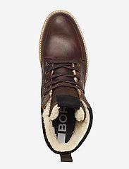 Björn Borg - MIO HIGH M - vinter boots - brown - 3