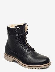 Björn Borg - KENNA HGH TMB W - flat ankle boots - black - 0