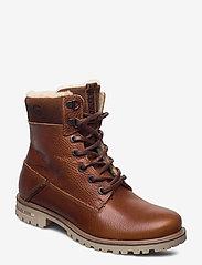 Björn Borg - KENNA HGH TMB W - flat ankle boots - tan - 0