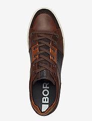 Björn Borg - COLLIN LOW DMT M - laag sneakers - dark brown - 3