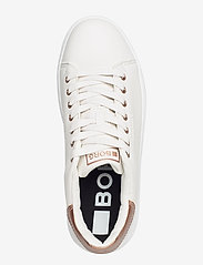 Björn Borg - T1500 LOW CLS W - low top sneakers - white-rose gold - 3