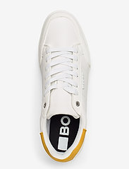 Björn Borg - T1316 SPT M - laag sneakers - white-yellow - 3