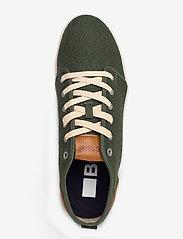 Björn Borg - L400 CVS M - laag sneakers - olive - 3