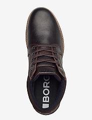 Björn Borg - SUNDAL MID TMB M - laced boots - dark brown - 3