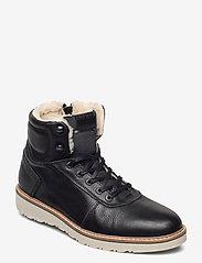 Björn Borg - RUNO HGH FUR M - winter boots - black - 0