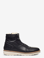 Björn Borg - RUNO HGH FUR M - winter boots - black - 1