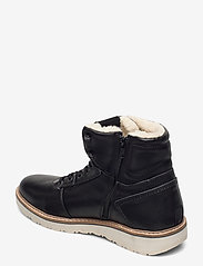 Björn Borg - RUNO HGH FUR M - winter boots - black - 2