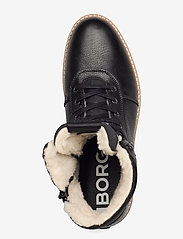 Björn Borg - RUNO HGH FUR M - winter boots - black - 3