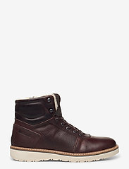 Björn Borg - RUNO HGH FUR M - winter boots - dark brown - 1
