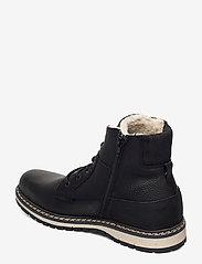 Björn Borg - BOAZ HGH FUR M - winter boots - black - 2