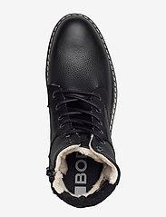 Björn Borg - BOAZ HGH FUR M - winter boots - black - 3