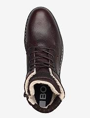 Björn Borg - BOAZ HGH FUR M - winter boots - dark brown - 3