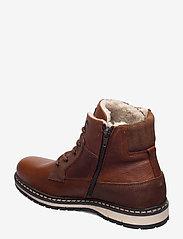 Björn Borg - BOAZ HGH FUR M - winter boots - tan - 2