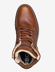 Björn Borg - BOAZ HGH FUR M - winter boots - tan - 3