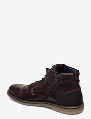 Björn Borg - BARLOW HGH M - laced boots - dark brown - 2