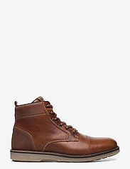 Björn Borg - BARLOW HGH M - laced boots - tan - 1