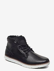 Björn Borg - BAX MID M - hoog sneakers - black - 0